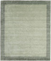 ハンドルーム Frame - グレー/グリーン 絨毯 250X300 モダン ライトグリーン/パステルグリーン 大きな (ウール, インド)