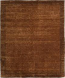 ハンドルーム Frame - 茶 絨毯 250X300 モダン 茶 大きな (ウール, インド)