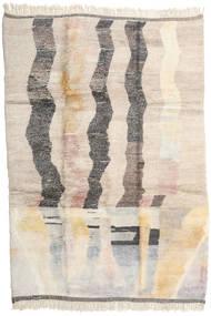 Berber Moroccan - Mid Atlas 絨毯 261X378 モダン 手織り ベージュ/薄い灰色 大きな (ウール, モロッコ)