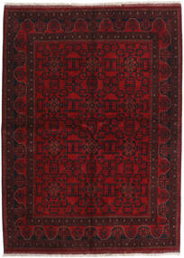 アフガン Khal Mohammadi 絨毯 175X238 オリエンタル 手織り 深紅色の (ウール, アフガニスタン)
