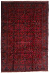 アフガン Khal Mohammadi 絨毯 203X292 オリエンタル 手織り 深紅色の/赤 (ウール, アフガニスタン)