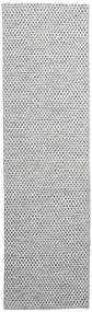 キリム Honey Comb - 二級品 絨毯 80X290 モダン 手織り 廊下 カーペット (ウール, インド)