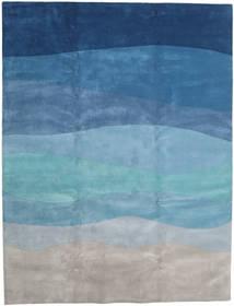 Feeling Handtufted - 二級品 絨毯 300X400 モダン 薄い灰色/ターコイズブルー 大きな (ウール, インド)