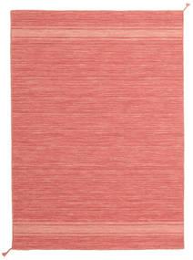 Ernst - Coral/Light_Coral 絨毯 140X200 モダン 手織り ライトピンク/赤 (ウール, インド)