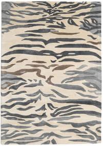 Love Tiger - グレー 絨毯 160X230 モダン ベージュ/濃いグレー/薄い灰色 ( インド)