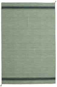 Ernst - グリーン/ダーク _Green 絨毯 200X300 モダン 手織り オリーブ色/ライトグリーン/パステルグリーン (ウール, インド)