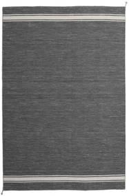 Ernst - 濃いグレー/薄いベージュ 絨毯 200X300 モダン 手織り 濃いグレー/濃い茶色 (ウール, インド)