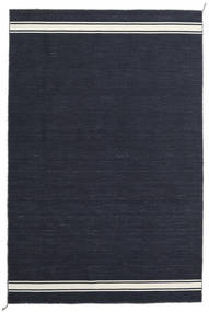 Ernst - Navy/オフホワイト 絨毯 200X300 モダン 手織り 紺色の (ウール, インド)