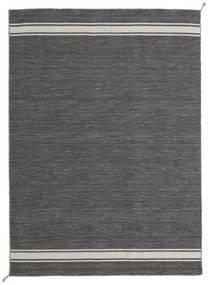 Ernst - 濃いグレー/薄いベージュ 絨毯 170X240 モダン 手織り 濃いグレー/濃い茶色 (ウール, インド)