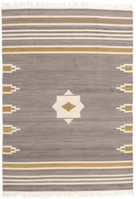 Tribal - グレー 絨毯 160X230 モダン 手織り 薄い灰色/ベージュ (ウール, インド)
