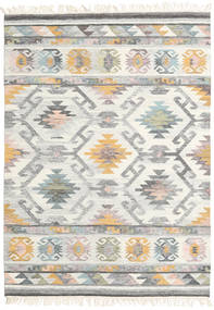 Mirza 絨毯 160X230 モダン 手織り 薄い灰色/ベージュ (ウール, インド)