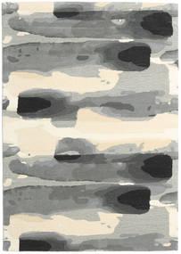 Ink - グレー 絨毯 160X230 モダン 薄い灰色/ベージュ (ウール, インド)