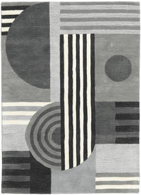 Tilt - グレー 絨毯 160X230 モダン 薄い灰色/深緑色の (ウール, インド)