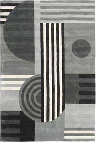 Tilt - グレー 絨毯 200X300 モダン 薄い灰色/黒 (ウール, インド)