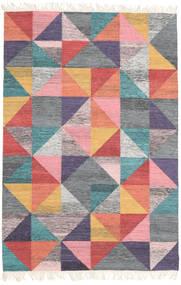 Caleido 絨毯 120X180 モダン 手織り 薄い灰色/ライトピンク (ウール, インド)