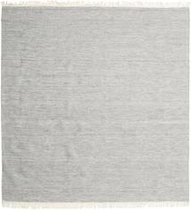 Melange - グレー 絨毯 250X250 モダン 手織り 正方形 薄い灰色 大きな (ウール, インド)