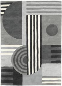 Tilt - グレー 絨毯 140X200 モダン 薄い灰色/深緑色の (ウール, インド)