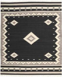 Tribal - 黒 絨毯 250X300 モダン 手織り 黒/ベージュ 大きな (ウール, インド)