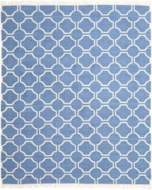 London - 青/オフホワイト 絨毯 250X300 モダン 手織り 青/水色 大きな (ウール, インド)