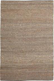 屋外カーペット Siri Jute - ナチュラル/黒 絨毯 250X350 モダン 手織り 薄い灰色/ベージュ 大きな ( インド)