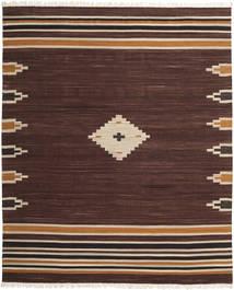Tribal - 茶 絨毯 250X300 モダン 手織り 濃い茶色 大きな (ウール, インド)