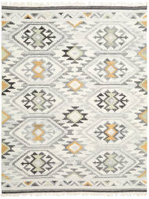 Mirzapur 絨毯 200X300 モダン 手織り 暗めのベージュ色の/ベージュ (ウール, インド)