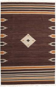 Tribal - 茶 絨毯 200X300 モダン 手織り 濃い茶色 (ウール, インド)