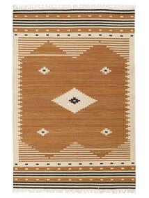Tribal - マスタード 絨毯 140X200 モダン 手織り 茶/薄茶色 (ウール, インド)