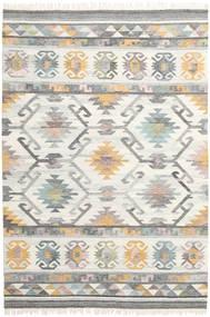 Mirza 絨毯 200X300 モダン 手織り 薄い灰色/ベージュ (ウール, インド)