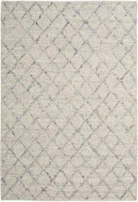 Rut - シルバー/グレー Melange 絨毯 200X300 モダン 手織り 薄い灰色/暗めのベージュ色の (ウール, インド)