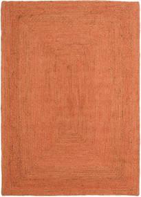屋外カーペット Frida Color - オレンジ 絨毯 140X200 モダン 手織り オレンジ/赤 ( インド)