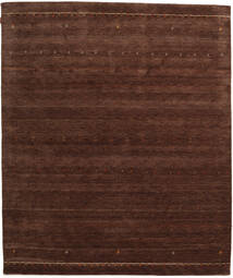 ギャッベ インド 絨毯 255X301 モダン 手織り 深紅色の/濃い茶色 大きな (ウール, インド)