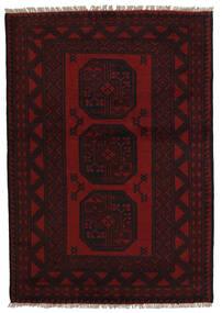 アフガン 絨毯 94X141 オリエンタル 手織り 深紅色の (ウール, アフガニスタン)