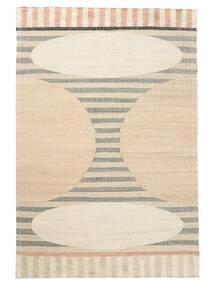屋外カーペット Time Jute 絨毯 140X200 モダン 手織り ベージュ/薄い灰色 ( インド)