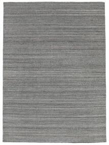 Petra - Dark_Mix 絨毯 140X200 モダン 手織り 濃いグレー/水色 ( インド)