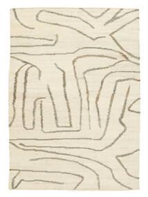 屋外カーペット Native 絨毯 140X200 モダン 手織り ベージュ/薄い灰色 ( インド)