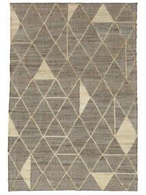 屋外カーペット Berber Jute 絨毯 160X230 モダン 手織り 薄い灰色/ベージュ ( インド)