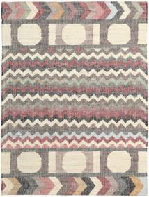 屋外カーペット Arrows Jute 絨毯 160X230 モダン 手織り ベージュ/薄い灰色 ( インド)