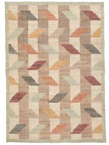 屋外カーペット Flakes Jute 絨毯 160X230 モダン 手織り ベージュ/薄い灰色 ( インド)