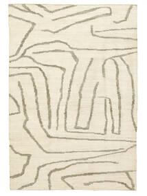 屋外カーペット Native 絨毯 200X300 モダン 手織り ベージュ/薄い灰色 ( インド)