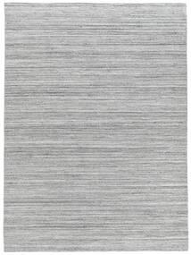 Petra - Light_Mix 絨毯 200X300 モダン 手織り 薄い灰色/ホワイト/クリーム色 ( インド)