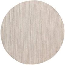 屋外カーペット Petra - Beige_Mix 絨毯 Ø 200 モダン 手織り ラウンド 薄い灰色/ホワイト/クリーム色 ( インド)