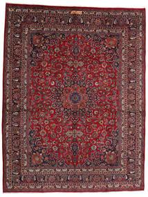 マシュハド 絨毯 302X393 オリエンタル 手織り 深紅色の/濃いグレー 大きな (ウール, ペルシャ/イラン)