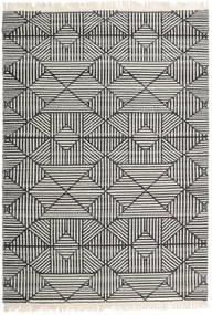 Mauri 絨毯 160X230 モダン 手織り 濃いグレー/薄い灰色/暗めのベージュ色の (ウール, インド)