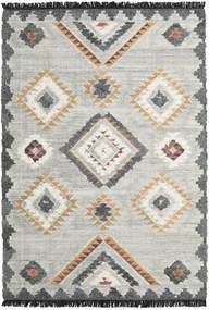 Dixie 絨毯 200X300 モダン 手織り 薄い灰色/暗めのベージュ色の (ウール, インド)