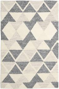 Trixon 絨毯 200X300 モダン 手織り ベージュ/濃いグレー/暗めのベージュ色の/薄い灰色 (ウール, インド)
