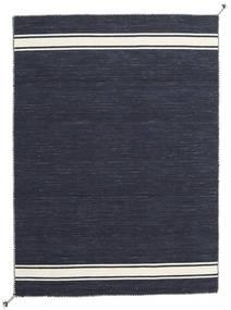 Ernst - Navy/オフホワイト 絨毯 170X240 モダン 手織り 濃いグレー (ウール, インド)