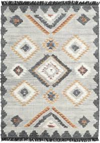 Dixie 絨毯 170X240 モダン 手織り 薄い灰色/暗めのベージュ色の (ウール, インド)