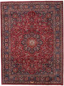 マシュハド 絨毯 294X396 オリエンタル 手織り 深紅色の/濃いグレー 大きな (ウール, ペルシャ/イラン)