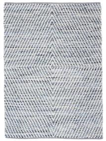 Hilda - Denim/白 絨毯 140X200 モダン 手織り ベージュ/水色 (綿, インド)
